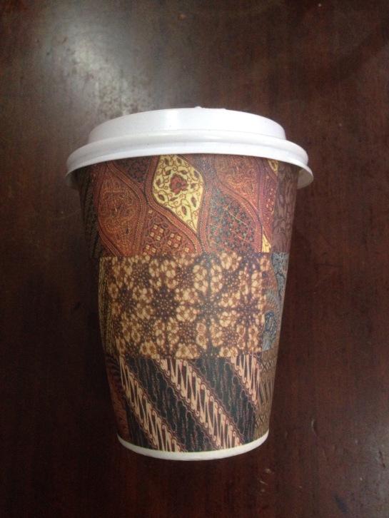 Batik Paper Cup 8 oz