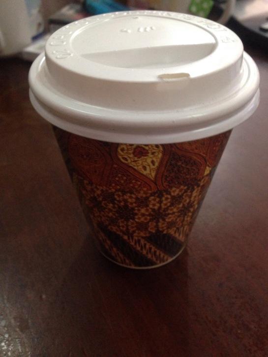 Batik Paper Cup 8oz